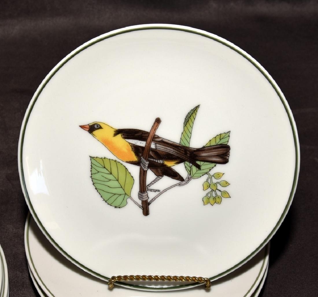 Japanese Bird Plates & Johnson Bros. Bone Dishes - 3