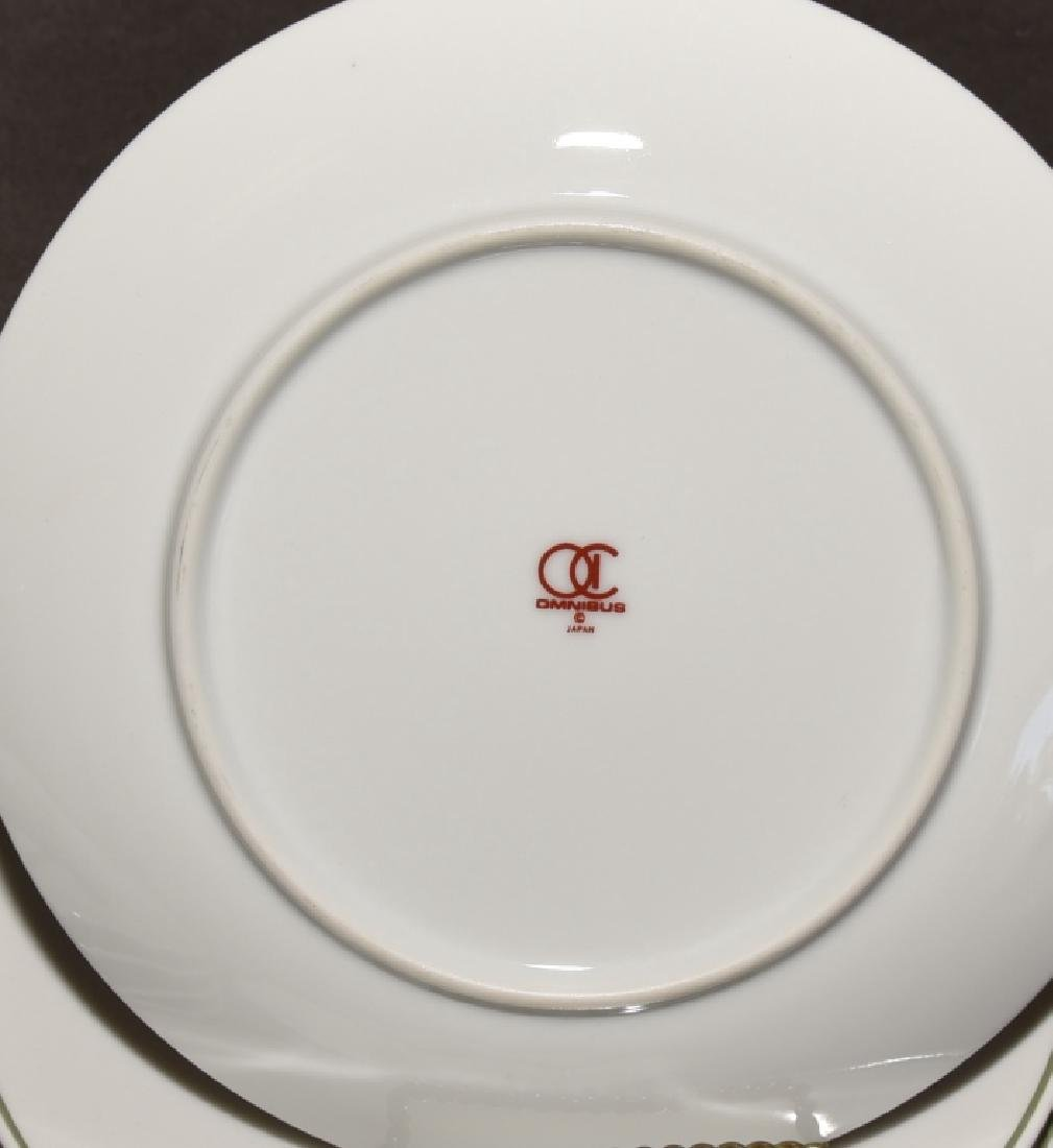 Japanese Bird Plates & Johnson Bros. Bone Dishes - 4