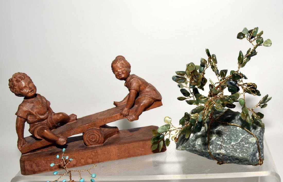 Decorative Seesaws and Stone Trees - 3