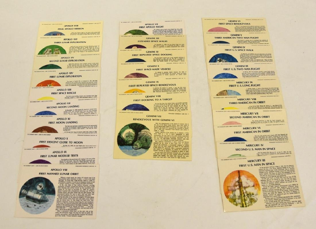 Men in Space Series Permanent Reference Cards