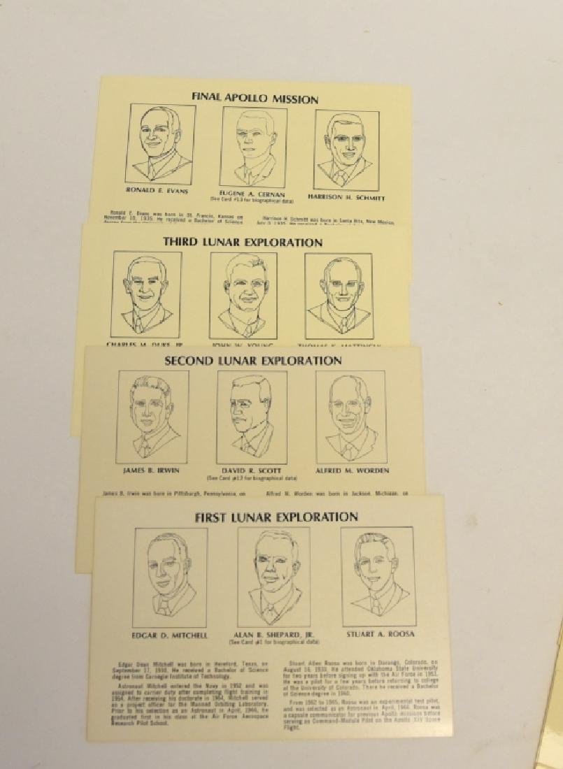 Men in Space Series Permanent Reference Cards - 2