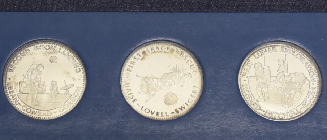 6 Sterling Coins, Men in Space 1st Ed., Series II - 2