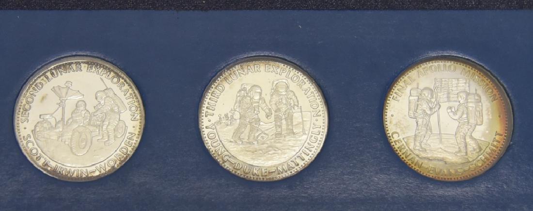 6 Sterling Coins, Men in Space 1st Ed., Series II - 3