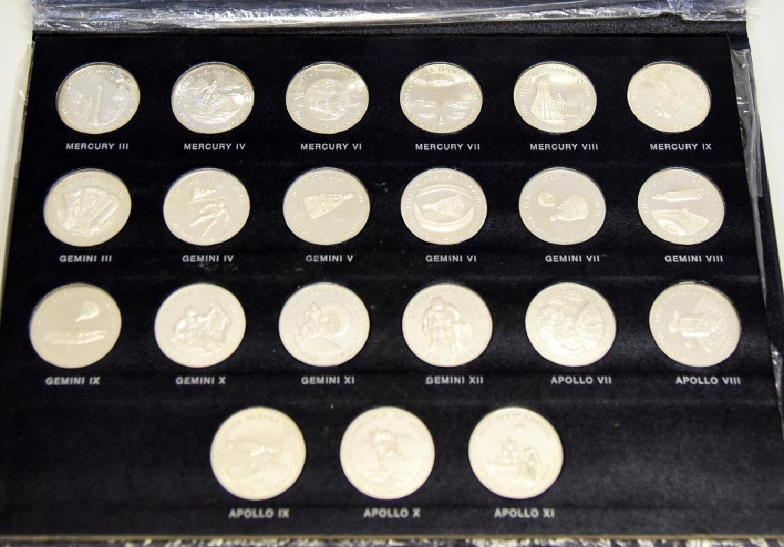 21 Sterling Coins, Men in Space Series, 1st Ed.
