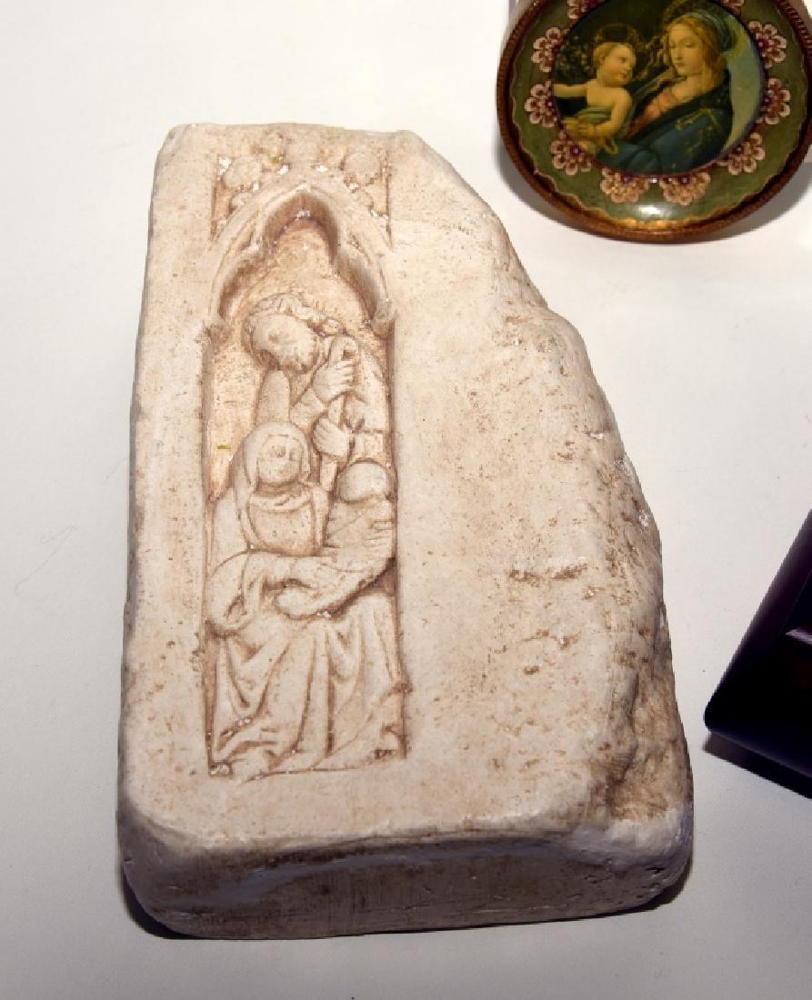 Virgin of the Rocks Ltd. Ed. Plate & More - 2