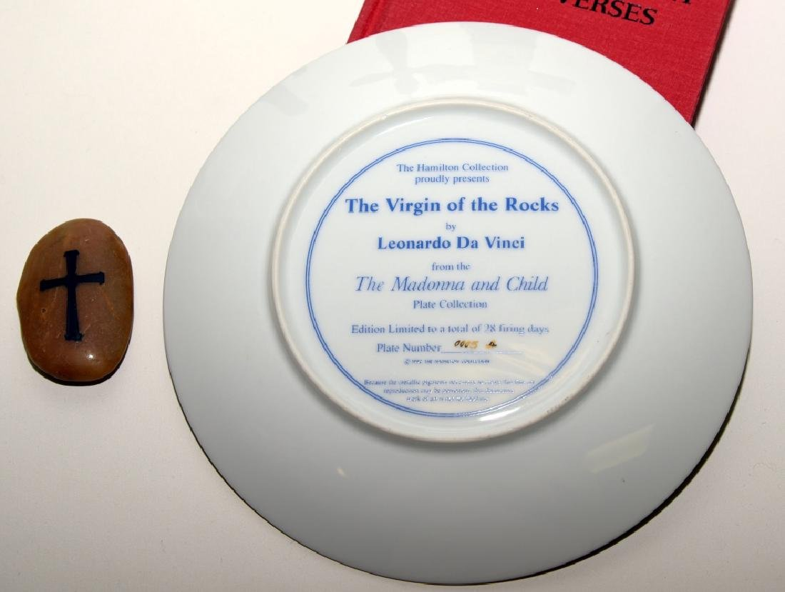 Virgin of the Rocks Ltd. Ed. Plate & More - 7