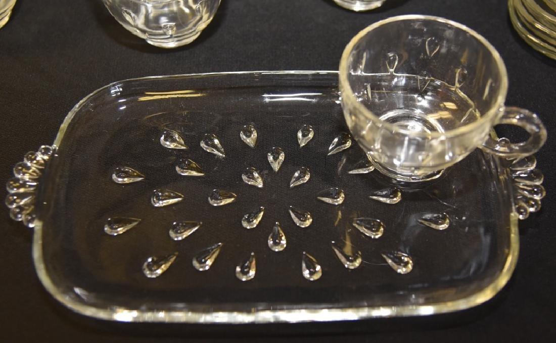 31 Vintage Tear Drop Snack Sets - 2