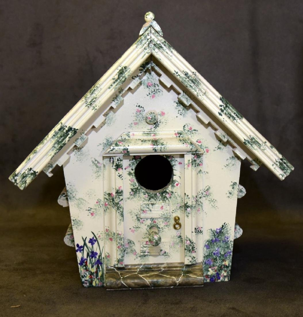 Tile Top Table & Bird House - 3