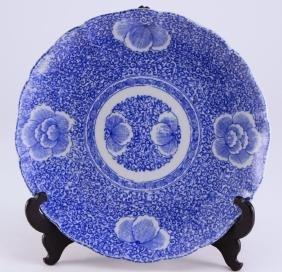 Japanese Arita Style Plate w/Stand