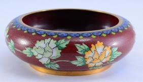Chinese Cloisonne Water Pot