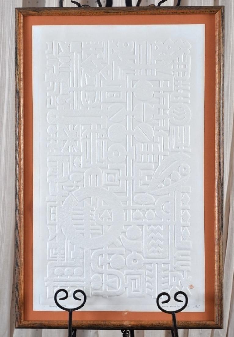 Haku Maki (1924-2000) Ltd. Ed. Embossed Art