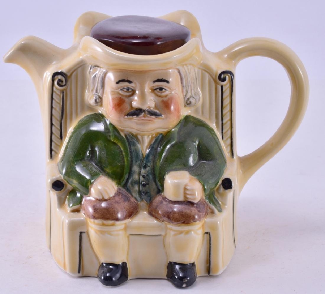 Tony Wood Staffordshire Darby & Joan Teapot