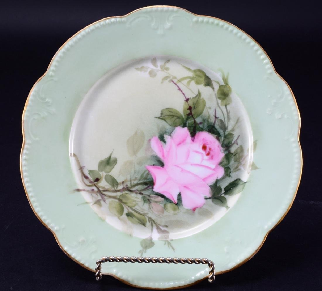 French AKD Rose Plate