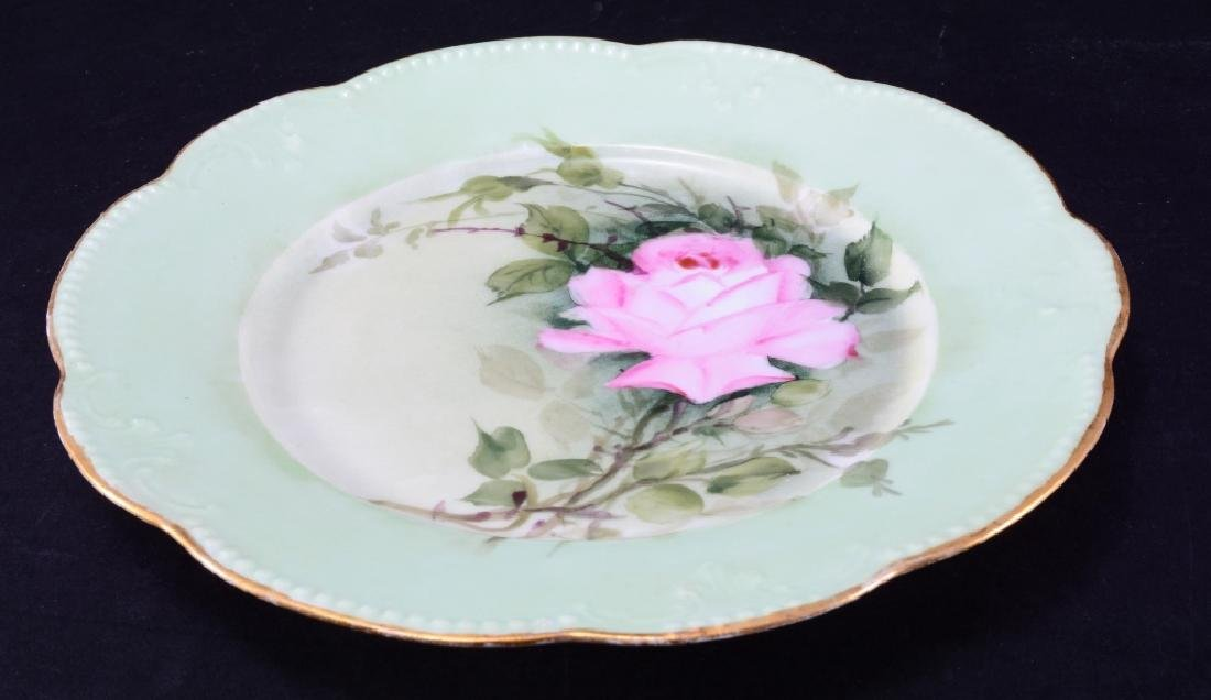 French AKD Rose Plate - 2