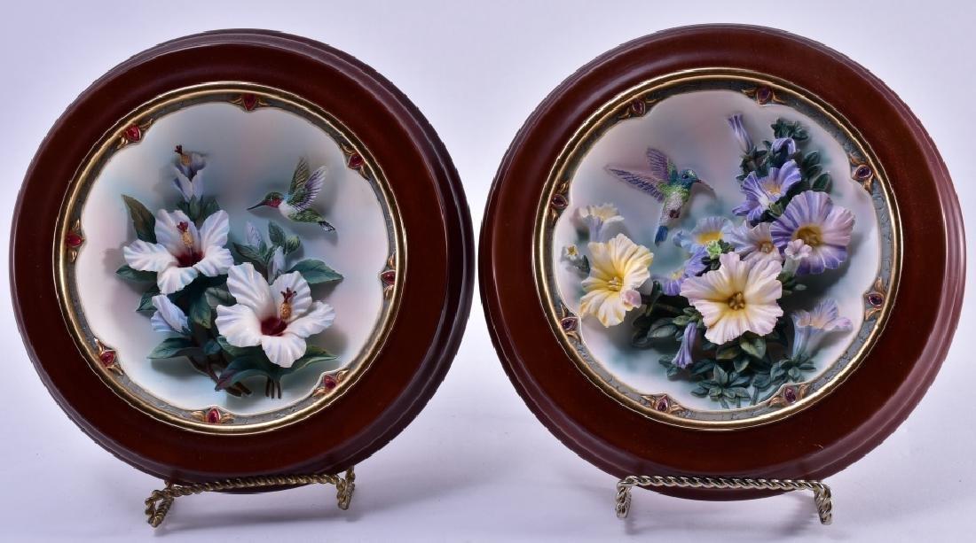 Lena Liu Framed Morning Jewels Plates