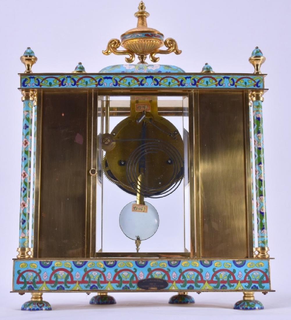 Vintage Chinese Cloisonné' Clock - 5