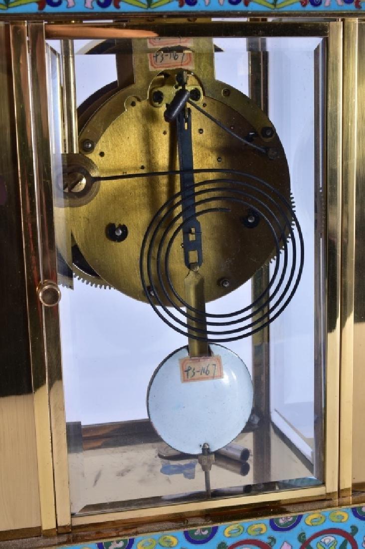 Vintage Chinese Cloisonné' Clock - 6
