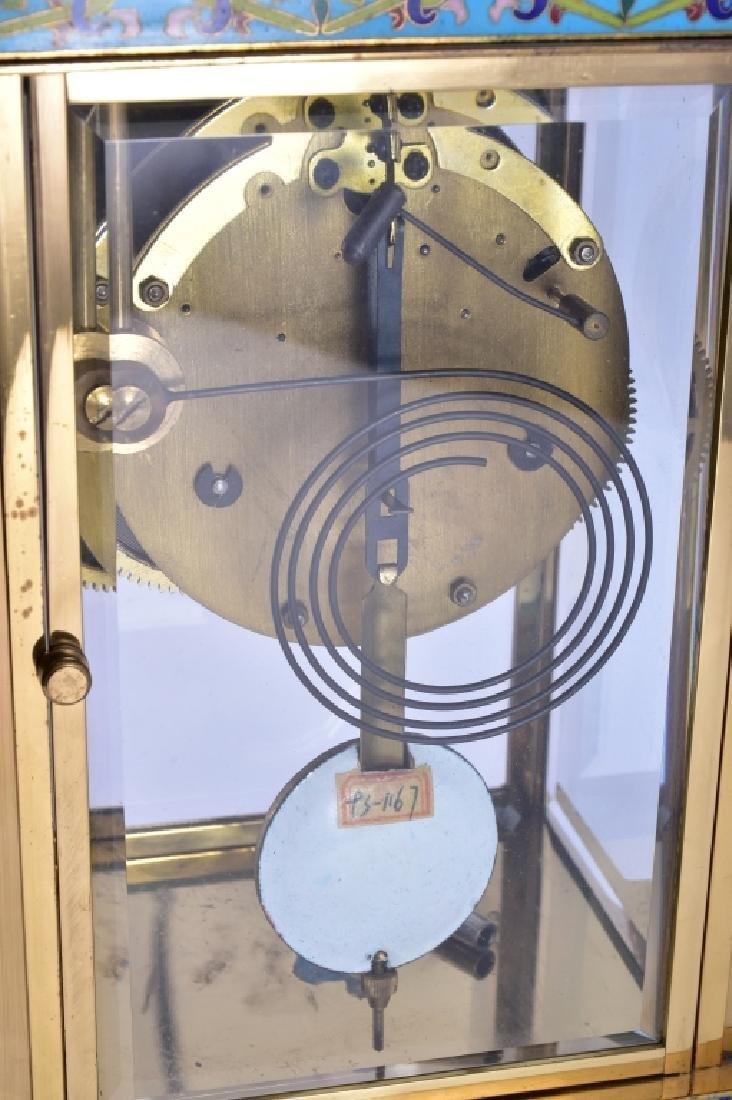 Vintage Chinese Cloisonné' Clock - 7