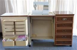 Pfaff Sewing Machine  Oversize Cabinet