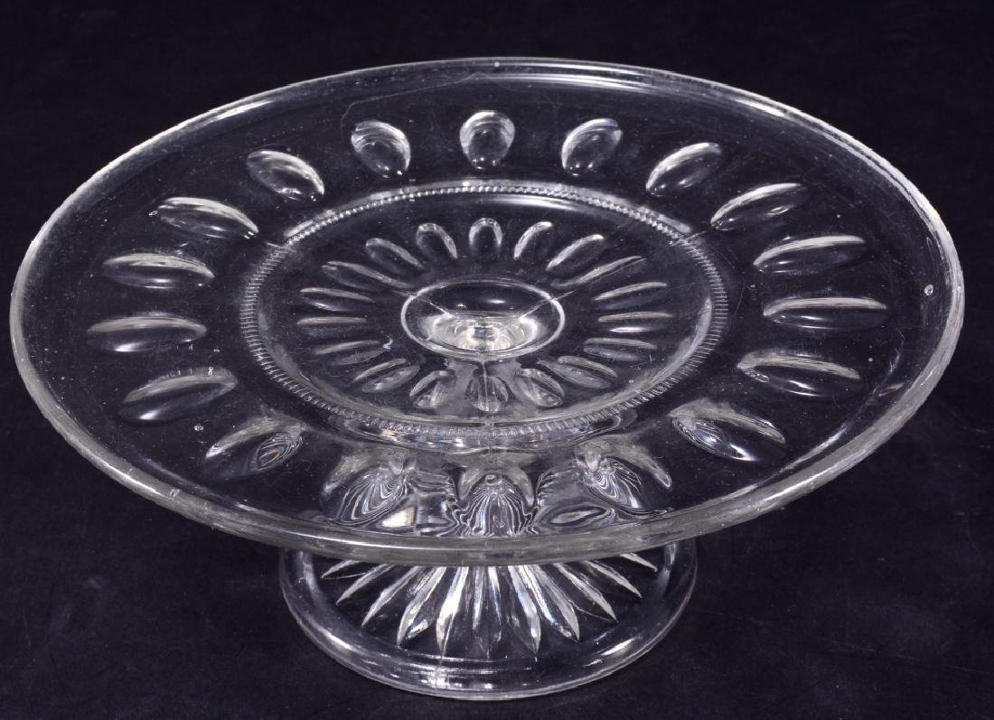 EAPG Possibly Punty Band Low Cake Stand