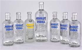 Mint in Bottles Absolute Vodka Plus 1 Partial