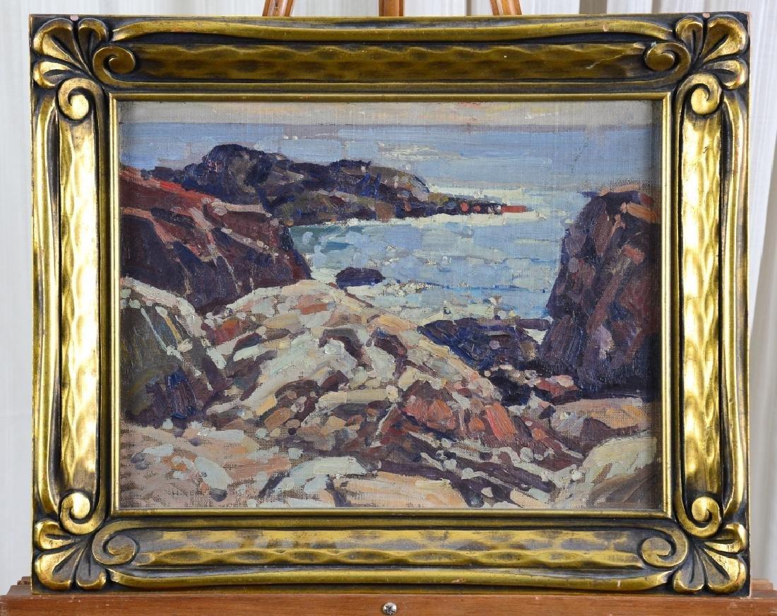 William Lester Stevens Painting on Board