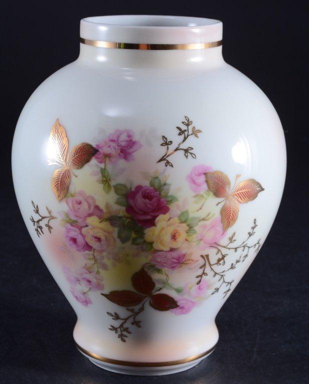 Schumann Arzberg Sunset Rose Vase