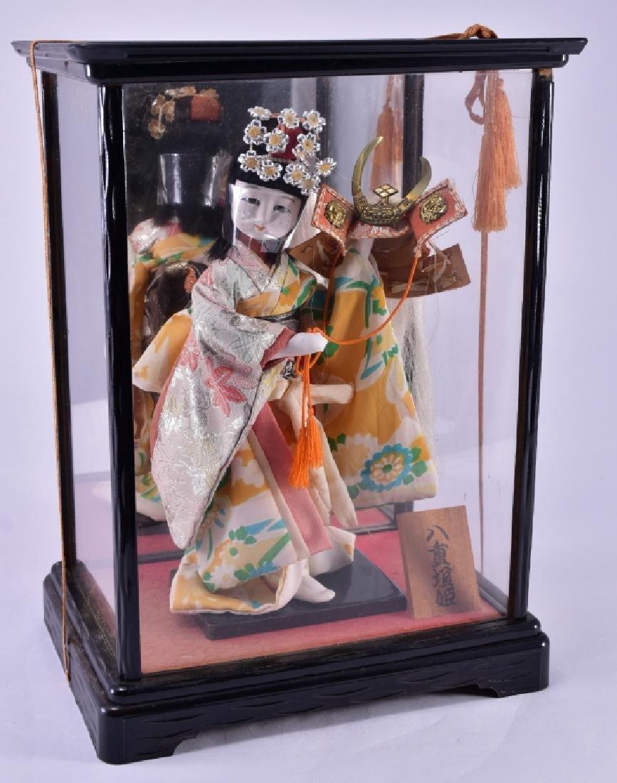 Geisha Doll in Case