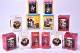 Twelve Pinocchio Christmas Ornaments