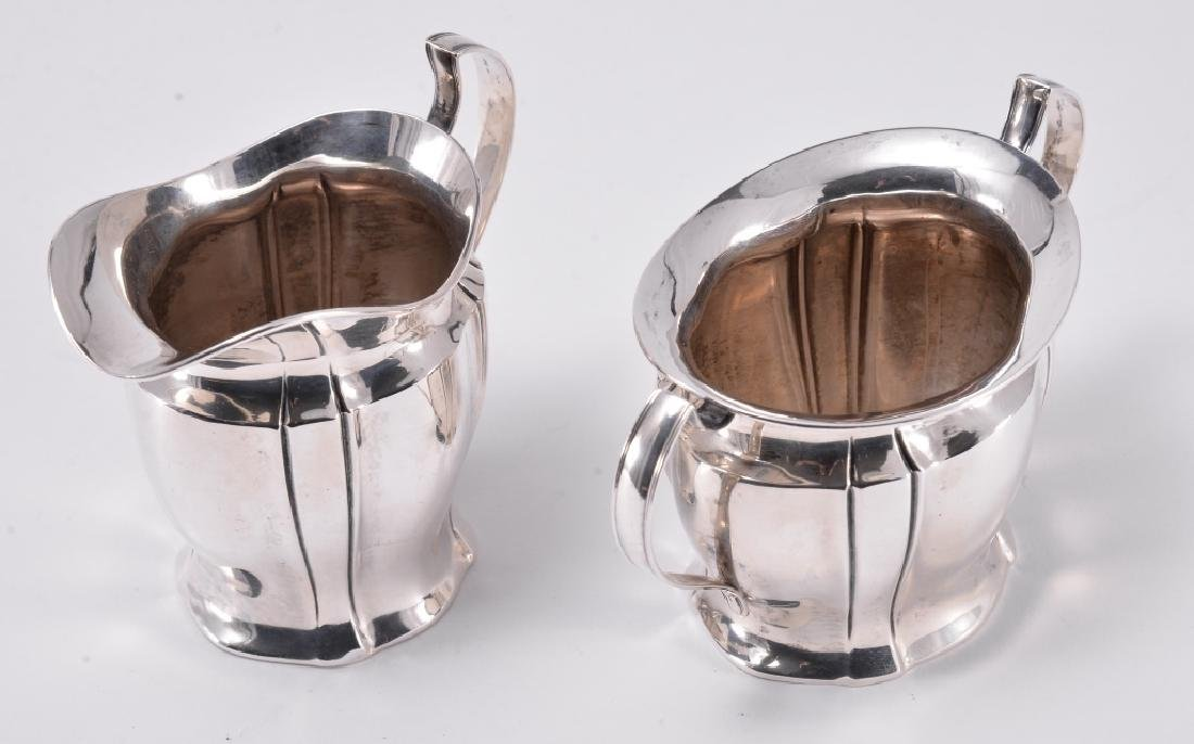 Sterling Silver Cream & Sugar - 3