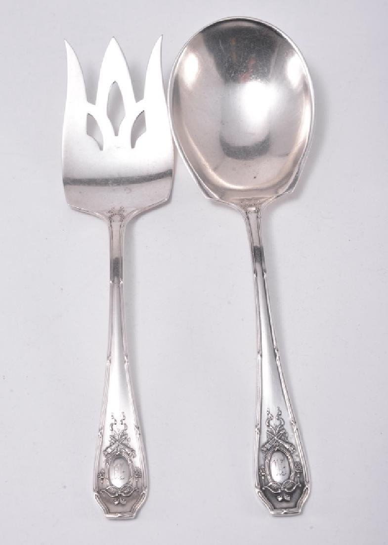 Sterling Serving Serving Fork & Spoon