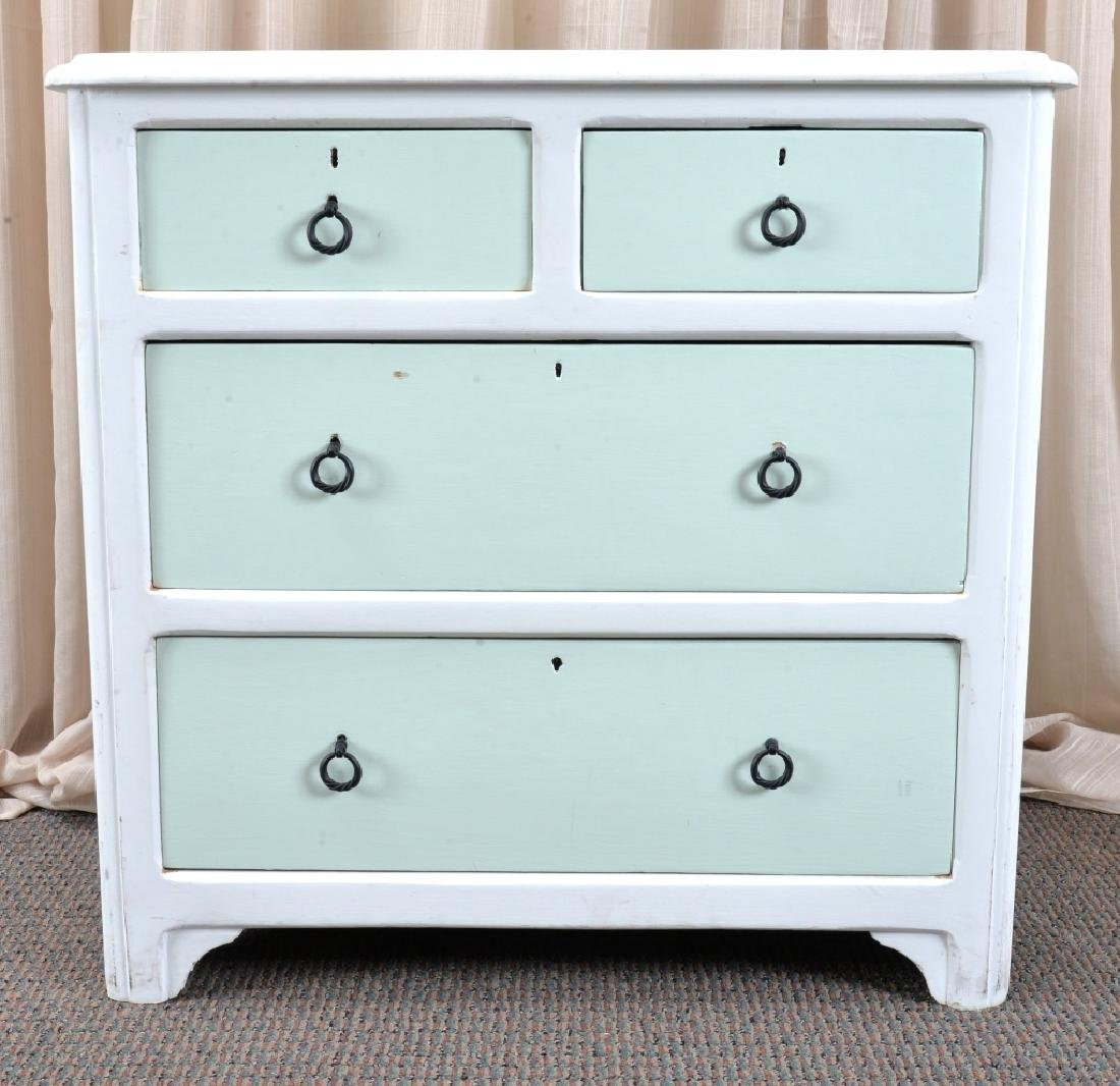 Painted 4-Drawer Chest