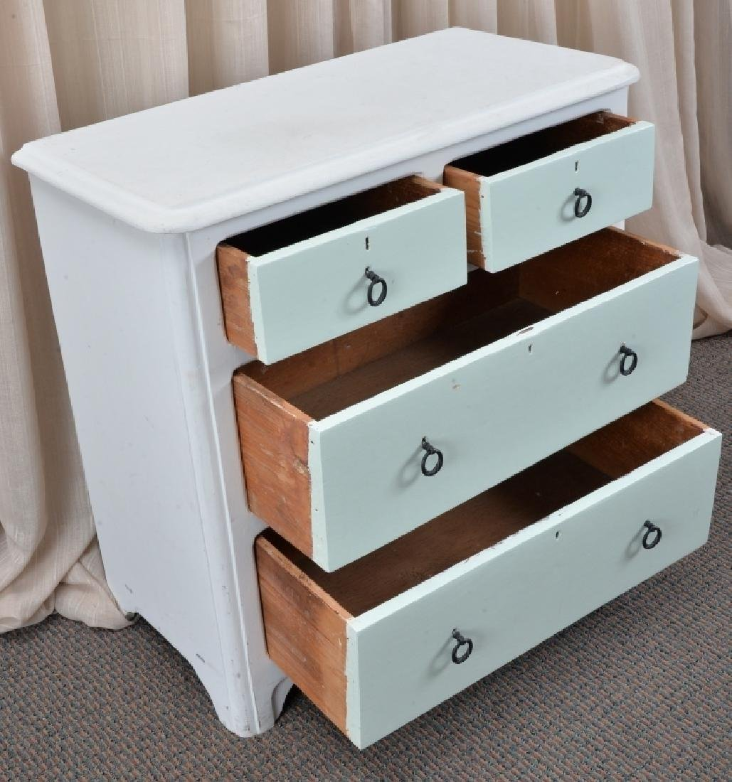 Painted 4-Drawer Chest - 2