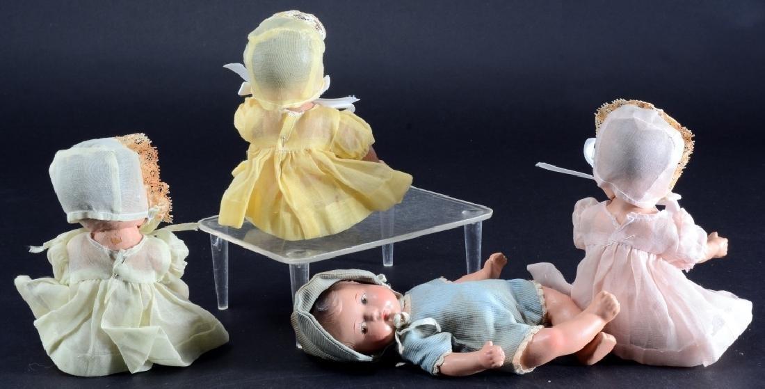 4 Madame Alexander Dionne Quintuplet Dolls - 2