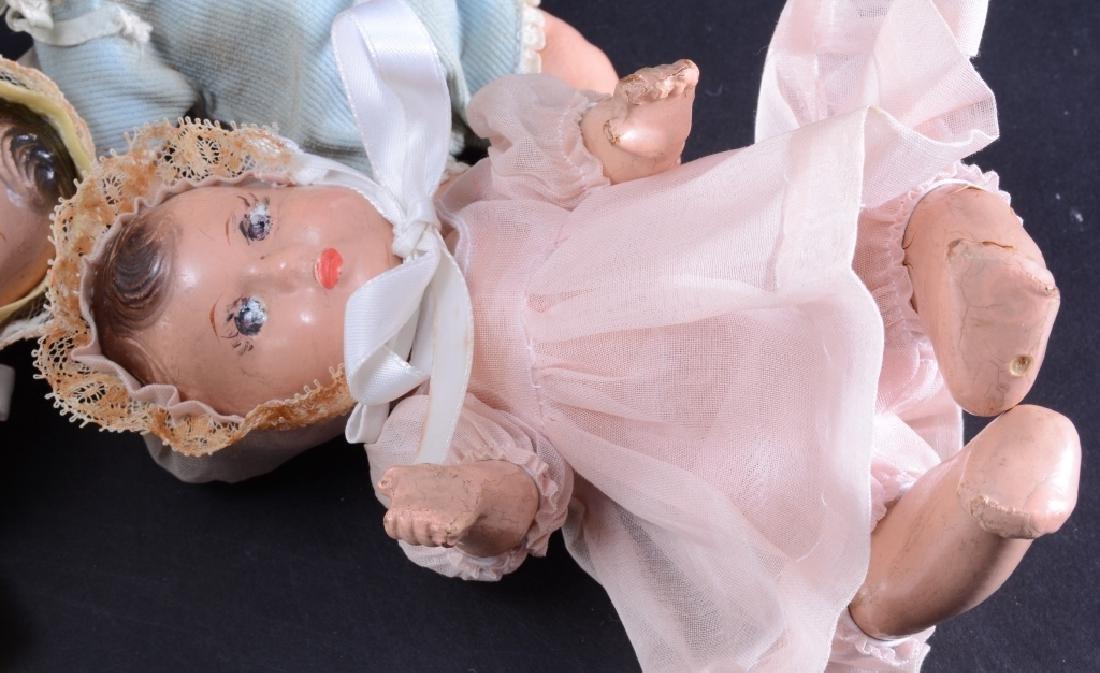 4 Madame Alexander Dionne Quintuplet Dolls - 5