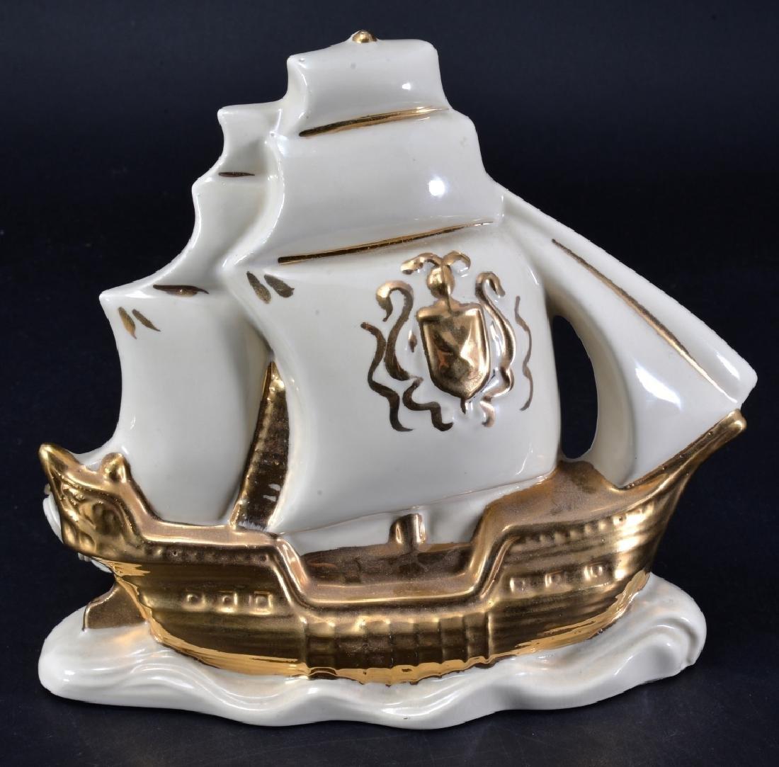 Sailing Ship Vintage TV Lamp
