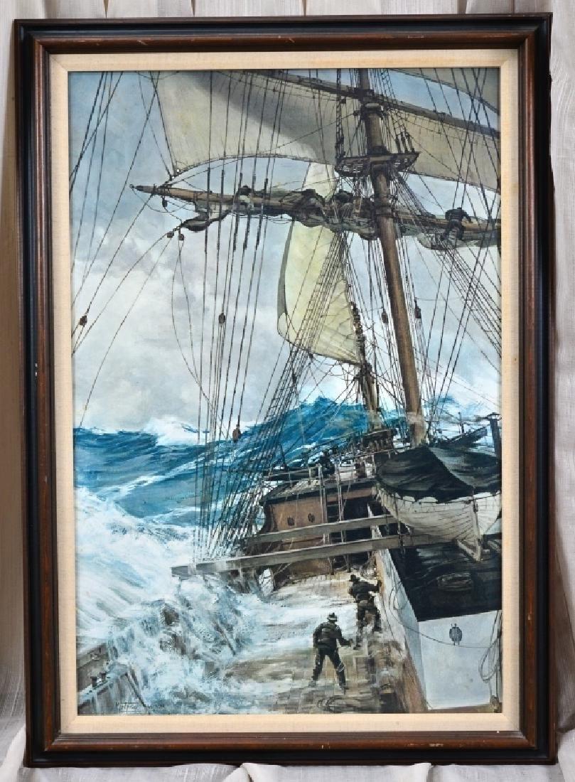 Montague Dawson Rising Wind Print