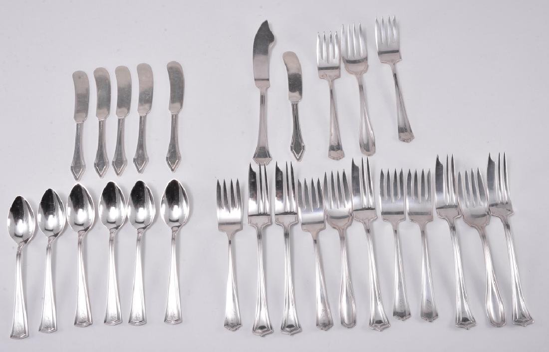 6 Gorham Clermont Sterling Butter Knives Plus