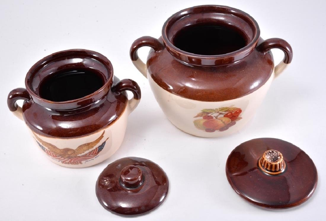 2 McCoy Bean Pots - 2