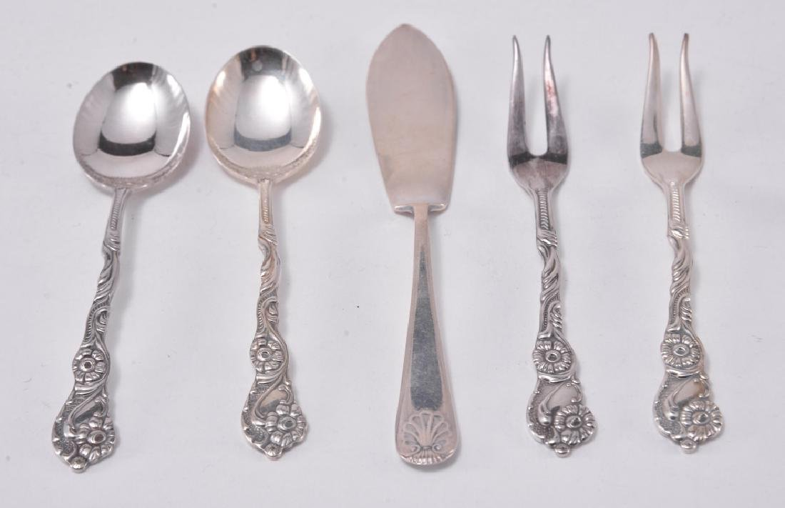 Silverplate Cocktail Forks, Spoons, Tongs & More - 3
