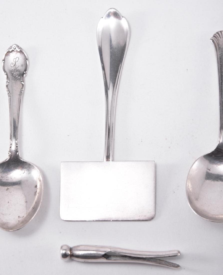 10 Sterling Souvenir & Flatware Pieces - 3