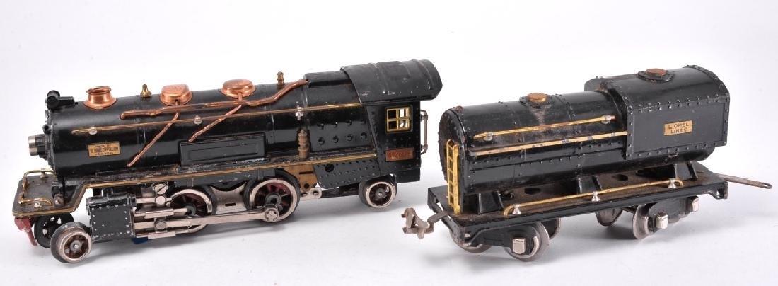 "Lionel Trains ""O"" Gauge Motor & Coal Car"
