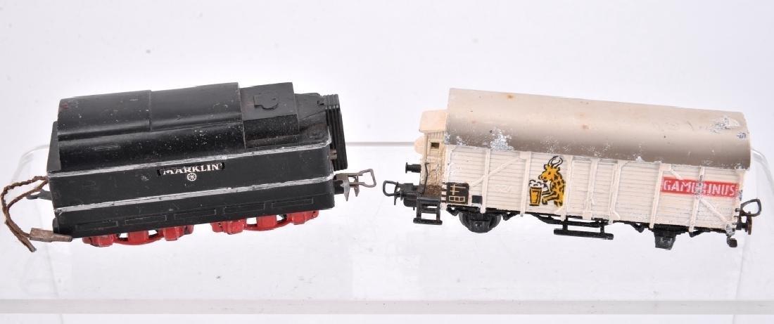 6 Marklin Railcars & Engine - 2