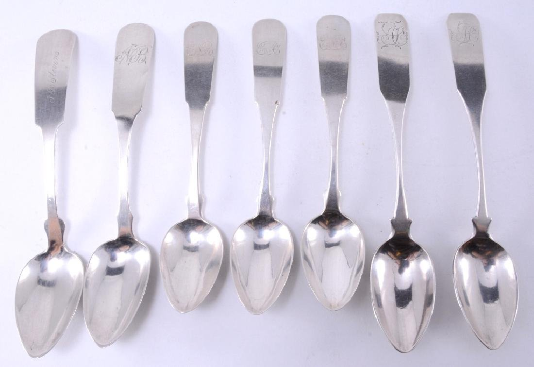 7 Coin Silver Spoons