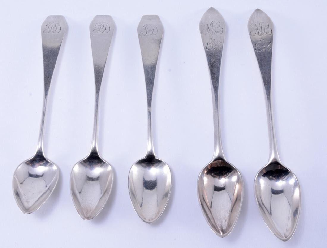 5 Coin Silver Spoons
