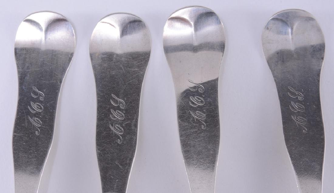 4 C.T. Emery Coin Silver Spoons - 2