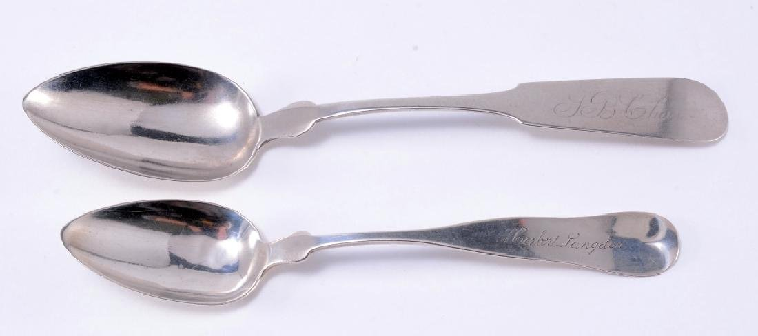 2 Coin Silver Spoons
