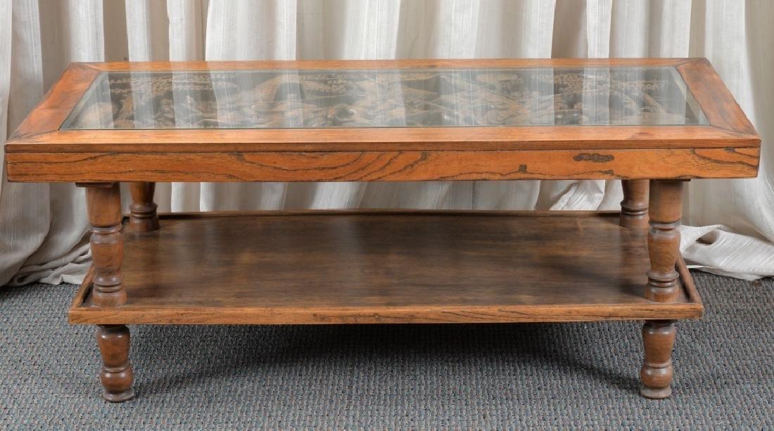 Hardwood Asian Coffee Table - 2