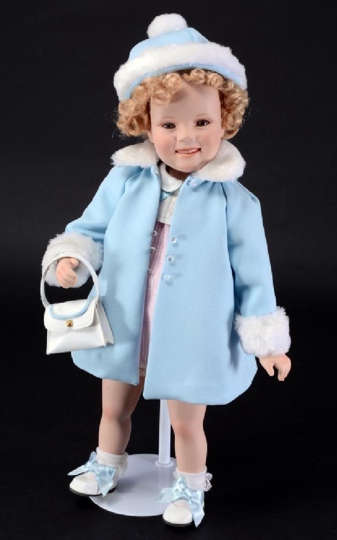 "Danbury Mint 18"" Shirley Temple Doll"
