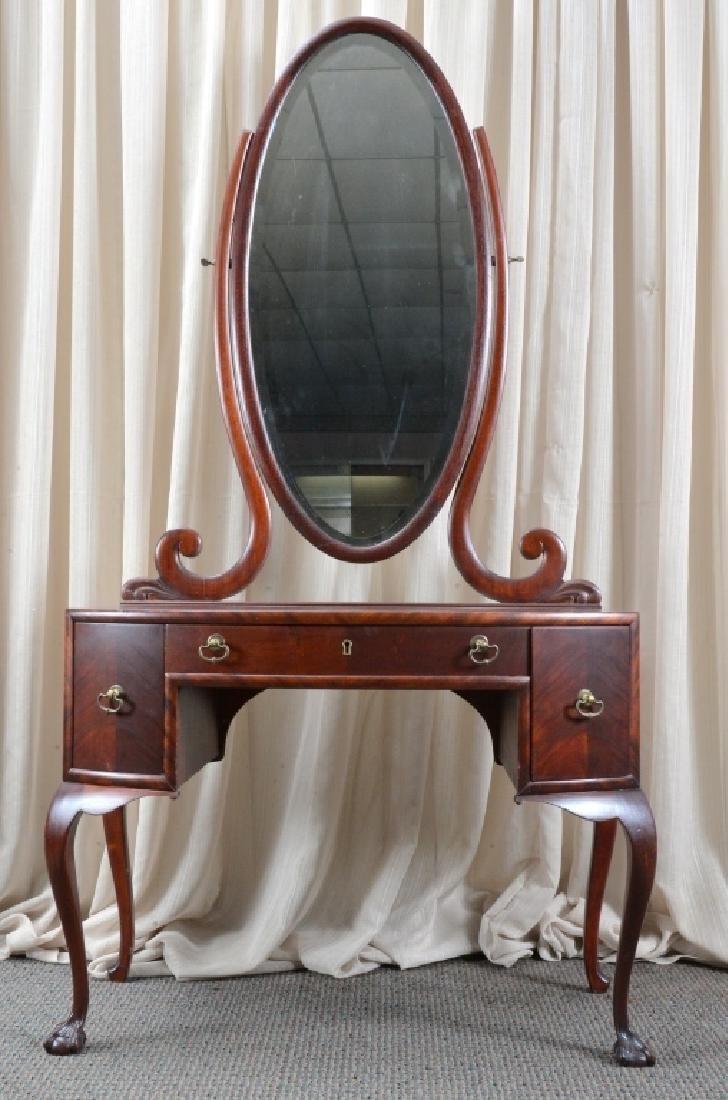 Vanity w/Swing Mirror